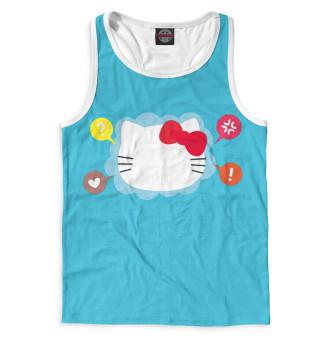 Майка борцовка мужская Hello Kitty (2532)