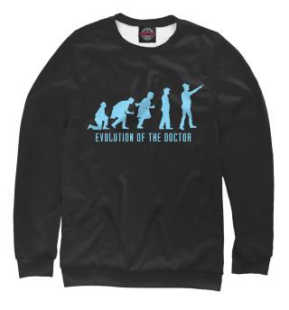 Одежда с принтом Doctor Who Evolution