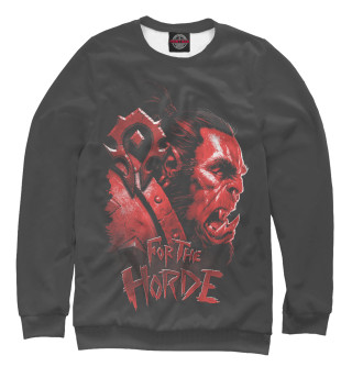 Одежда с принтом For the horde