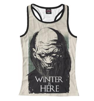 Майка борцовка женская Winter Is Here
