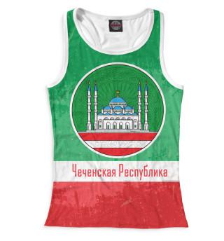Майка борцовка женская Чечня (8921)
