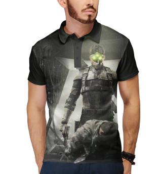 Поло мужское Splinter Cell: Blacklist — Сэм Фишер (4117)