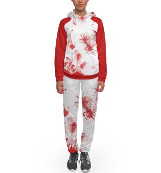 Спортивный костюм  женский Мясник