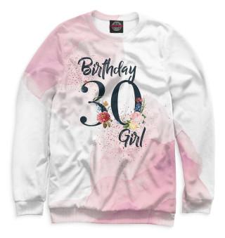 Одежда с принтом 30 лет (823636)