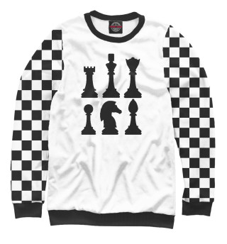 Одежда с принтом Chess