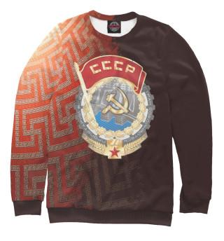 Одежда с принтом СССР  | Русь