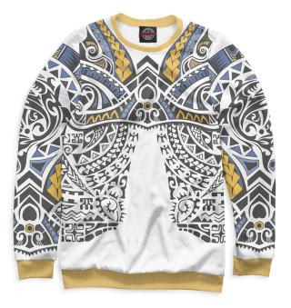 Одежда с принтом Полинезия