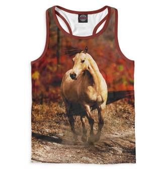 Майка борцовка мужская Лошади (7638)
