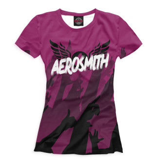 Футболка женская Aerosmith (4333)