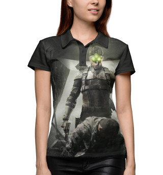 Поло женское Splinter Cell: Blacklist — Сэм Фишер (718)