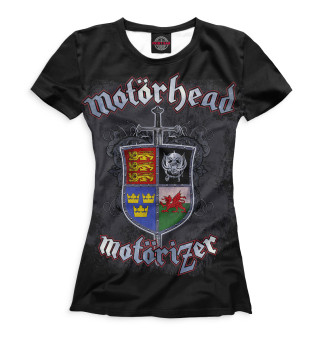 Футболка женская Motorhead (2460)