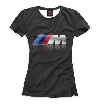 Футболка женская BMW (3562)
