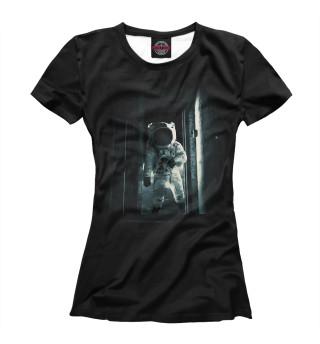 Футболка женская Астронавт (5370)