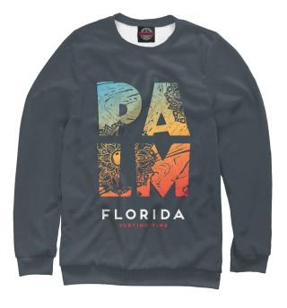 Одежда с принтом Пальмы (383593)