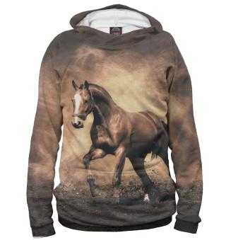 Худи женское Лошади (3526)