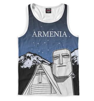 Майка борцовка мужская Армения (2898)