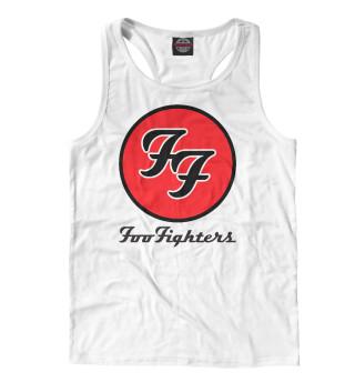 Майка борцовка мужская Foo Fighters (7585)