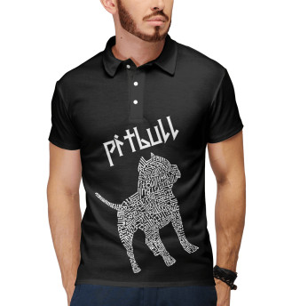 Поло мужское Питбуль