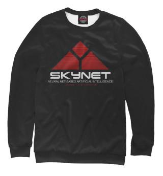 Одежда с принтом skynet logo dark