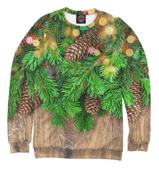 Одежда с принтом Новогодняя ёлка (351573)