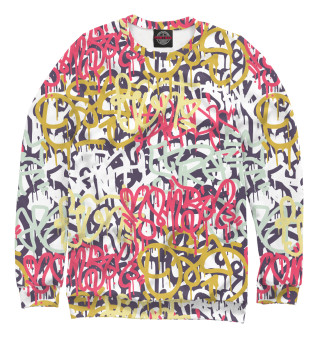 Одежда с принтом Граффити (731545)