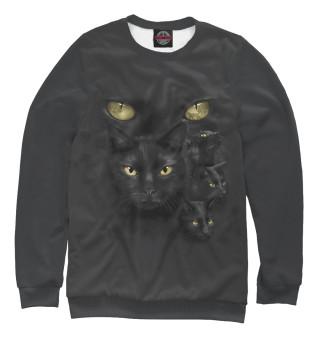 Одежда с принтом Черный кот (872088)