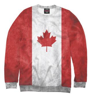 Одежда с принтом Флаг Канады