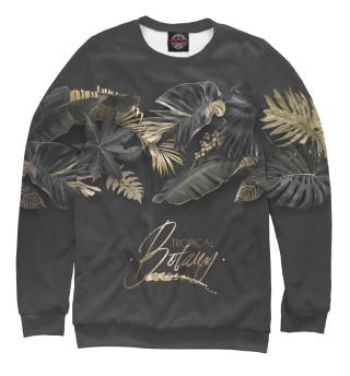 Одежда с принтом Тропические растения
