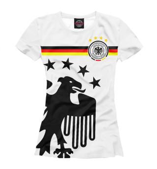 Футболка женская Германия