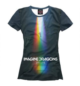 Футболка женская Imagine Dragons (6271)