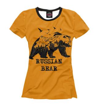 Футболка женская Russian BEAR