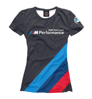 Футболка женская BMW Motorsport