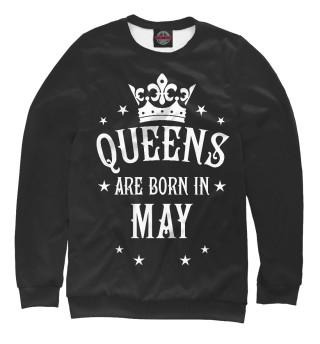 Одежда с принтом Королевы рождаются в мае (306954)