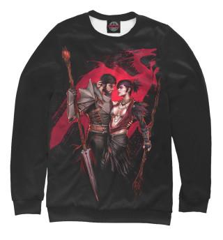 Одежда с принтом Dragon Age. Морриган и Хоук