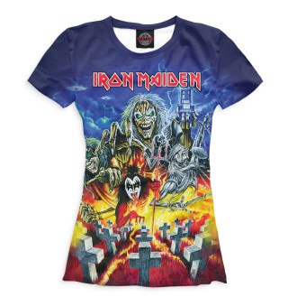 Футболка женская Iron Maiden (3834)
