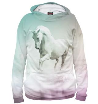 Худи женское Лошадь