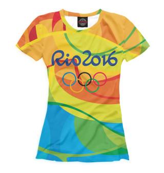 Футболка женская Олимпиада Рио-2016