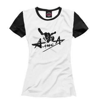 Футболка женская Алиса (4618)