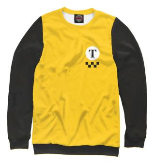 Одежда с принтом Т - такси и шашечки: желтый