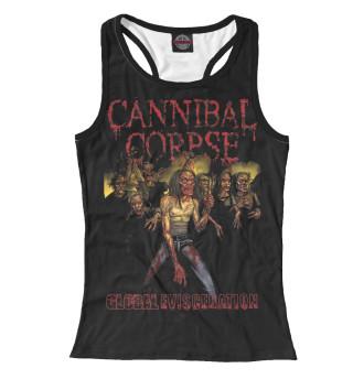 Майка борцовка женская Cannibal Corpse (8398)
