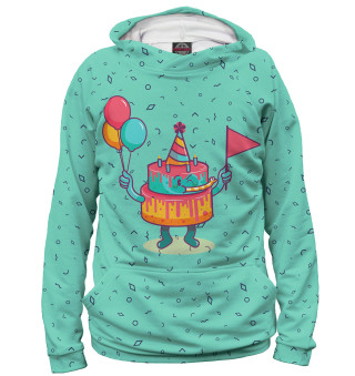 Худи женское День рождения (3786)