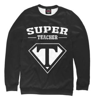 Одежда с принтом Супер учитель