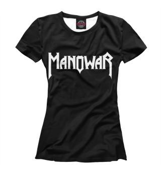 Футболка женская Manowar (8287)