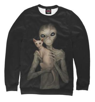 Одежда с принтом Инопланетянин со сфинксом