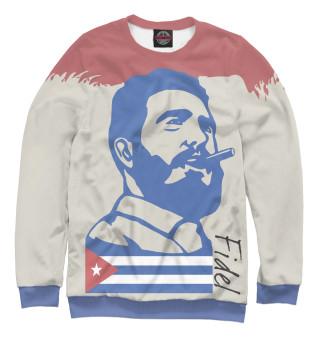 Одежда с принтом Фидель Кастро - Куба
