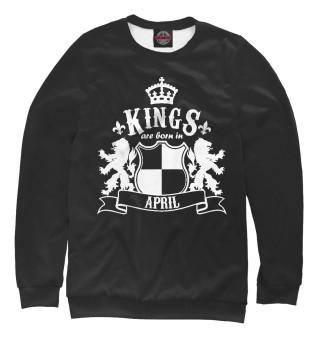Одежда с принтом Короли рождаются в апреле