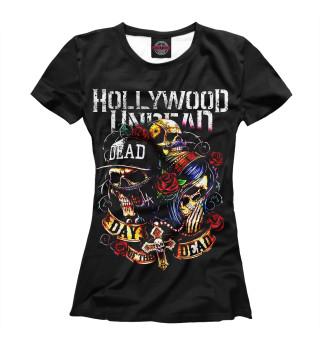 Футболка женская Hollywood Undead (6009)