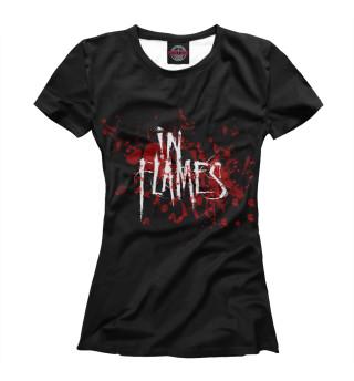 Футболка женская In Flames