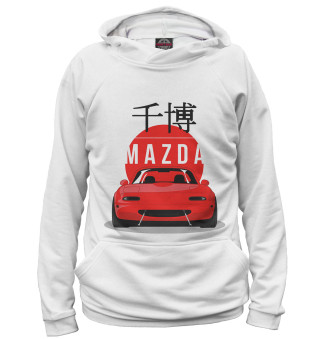 Худи мужское Mazda (4404)