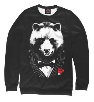 Одежда с принтом Медведь авторитет